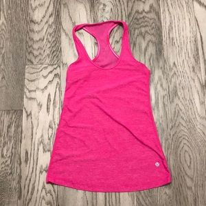 Lululemon Tank Top with mesh back